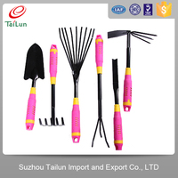 different kinds of mini garden tool set
