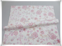 l high count and high density poplin fabric with printing