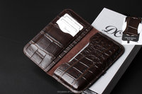 genuine crocodile leather wallet phone case for apple iphone 6 4.7inch