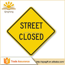 Trustworthy China Supplier printable road closed detour traffic sign