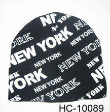 """Cheap """"New York"""" Promotion Beanie Hat"""