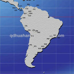 Drop shipping to or from Central & South America / Africa Freight Agents