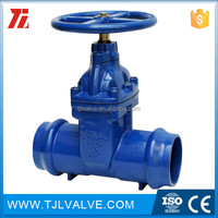 stem resilient gate valves gear operated socket ce cer