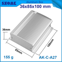 SZOMK aluminum wall mounted case for power supply