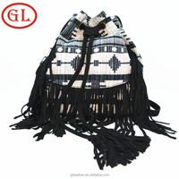 2015 lady fashion fringe tassel bag/tassel shoulder bag/tassel bag