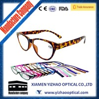 New fashion high quality cats eye shape reading glasses for lady CE&FDA