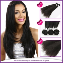 Virgin Brazilian Human Hair Wig No Chemical No Synthetic Double Weft Silky Straight