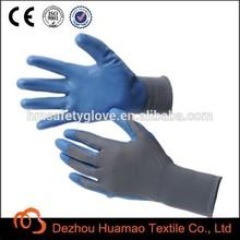 Pu recubierto de trabajo mecánico guantes para seguridad Industrial