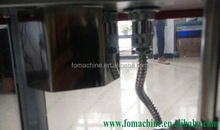 High quality full automatic pot caramel popcorn maker