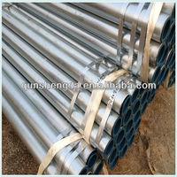gi black steel pipe/tube for furniture