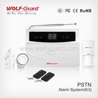 Touch LCD GSM Wireless & Wired Voice LCD Auto Dialer Home Alarm Security System(YL-007K3)