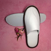 airline disposable guest waffle slipper