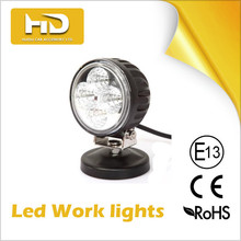2015 new product Offroad led work light, Auto led working lights, 12W round led work lights for car