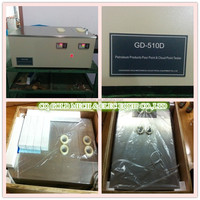 GD-510D Pour Point and Cloud Point Analysis Tester of Crude Oil