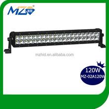 "120W spot work light 20"" CREE light bar for auto mobile"