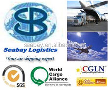 Cheap air cargo freight china to Bangalore/New Delhi/Mombay/Calcutta/Chennai India