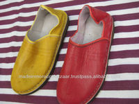 Best quality Moroccan Handmade Genuine Leather babouche slippers for men