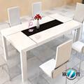 suar table à manger en bois table à manger monaco
