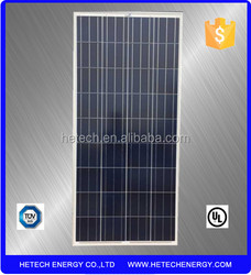 135W polycrystalline 12V solar panel for home use with TUV certificate