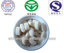 Ca-Fe-Zn chewable tablet for supplement calcium, iron and zinc 600mg OEM