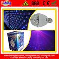 Discoteca dj fiesta en casa de la luz/auto rotación/e27 3w rgb parte de cristal bombilla led luces