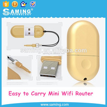 High Speed OEM Supported Pocket 3G Wifi Router Power Bank Hotspot IEEE 802.11b/g/n Adapter