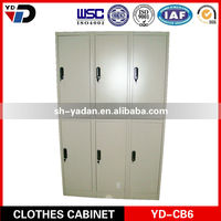 cheap YD structure knock down structure steel locker in India market