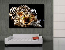 Leopard Picture printed on Canvas