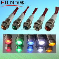Mini copper material 10mm LED signal light 12V signal light stick