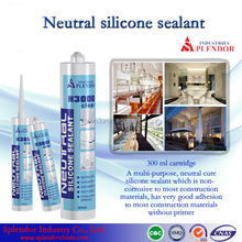 Neutral Silicone Sealant/ household silicone sealant materials use for furniture/ acrylic sealant and silicone