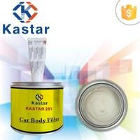 Trade Assurance Two Component BPO European cured system Polyester Putty for Galvanized Steel