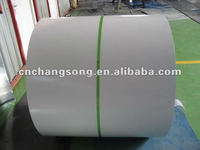 prepainted galvanized steel sheet in coil, 0.15mm thickness,white color