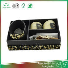 paper pacakging box for gift candle pack
