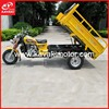 Open Driving Cabin Three Wheeler Tricycle / Advanced Motor Vehicle 3 Wheels