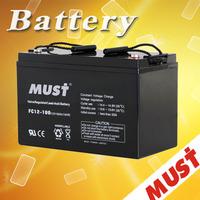 small rechargeable 12v agm battery 12v 100ah inverter battery