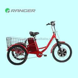 closed cargo box tricycle with 36V 12Ah lead acid battery CE