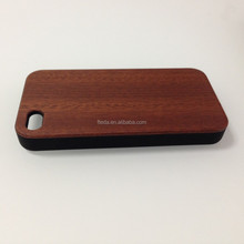 PC Material with walnut Wood Wooden Case Cover For Apple iPhone 6 plus