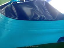 0.9mm dark blue and light blue pvc tarps coated tarpaulin Support swimming pool