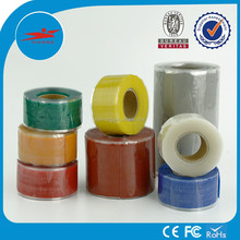 High temperature insulation self adhesive elastic tape silicone rubber for pipe