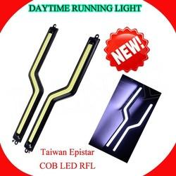 best seller JUNHUA!! 700lm led cob daytime running light cob drl for car slim cob led drl