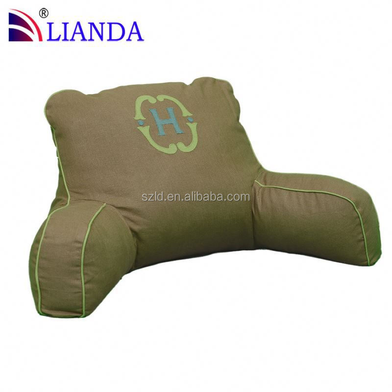 Hotsale!! Bed Rest Pillow With Arms Memory Foam Read