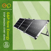 portable solar energy 180w certificate by CE/CEC/TUV/ISO