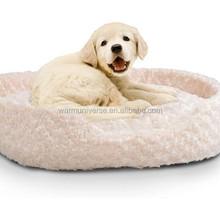 Cuddle Round Plush Memory Foam Pet Bed