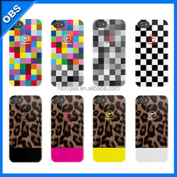 2015 business styles PC mobile phone case for iphone5(OBS-M4019)