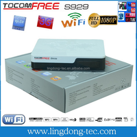 Latest satellite internet receiver /TOCOMFREE S929/tocomfree sat dongle