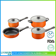 Trustworthy china supplier enamel coated cast iron cookware