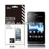Mobile phone screen protector for Sony xperia go st27i oem/odm