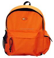 Orange Backpack School Bag for teenagers and pre-teens