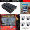 3G Vehicle Mobile DVR With GPS/WIFI Modules, H.264 Video Compression, Used For Car/Truck/Tanker/Bus/Taxi