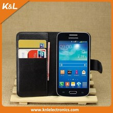 Litchi Pattern Soft Leather Wallet Stand Flip Cover Case For Huawei Ascend G700